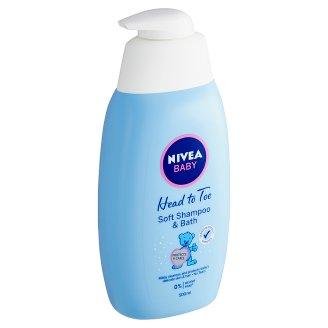 Nivea Baby Jemná koupel pro celé tělo & šampon 500ml