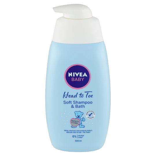 Nivea Baby Soft Shampoo & Bath 500ml