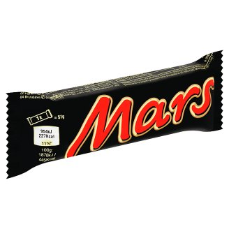 Mars Milk Chocolate Filled with Nugget and Caramel 51g