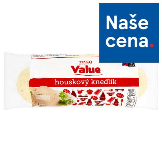 Tesco Value Houskový knedlík 500g