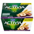 Danone Activia Jogurt s quinoa a lískovými ořechy 4 x 125g