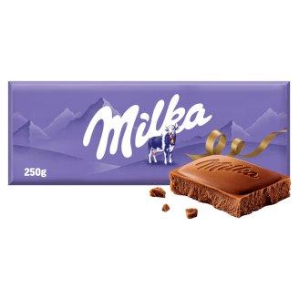 Milka Mléčná čokoláda z alpského mléka 250g