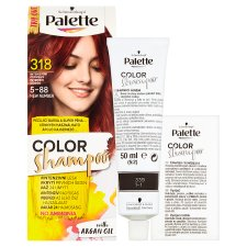 image 2 of Schwarzkopf Palette Color Shampoo Hair Color Intensive Red 318