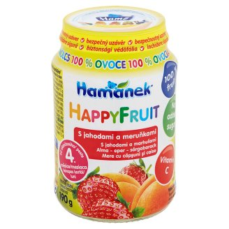 Hamánek Happy Fruit with Strawberry and Apricots 190g
