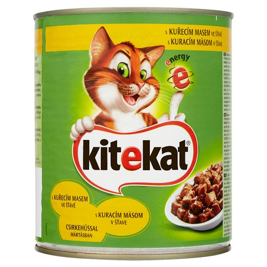 Kitekat Chicken in Sauce Complete Food for Adult Cats 800g