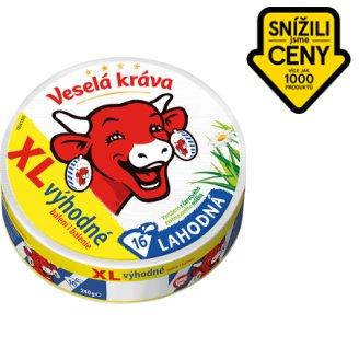 Veselá Kráva Lahodná tavený sýr XL 16 ks 240g