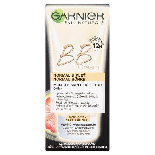 image 1 of Garnier Skin Naturals Miracle Skin Perfector 5in1 BB Cream Light Shade 50ml