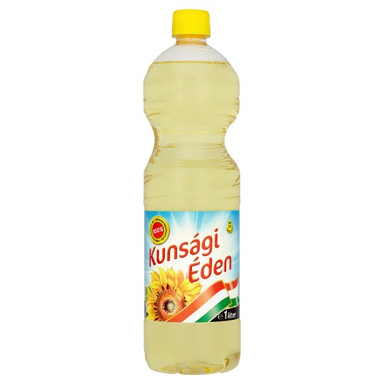 Kunsági Éden Refined Sunflower Oil 1L