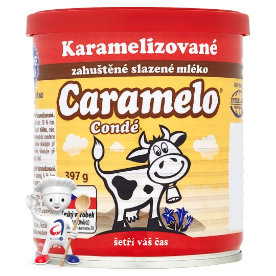 Bohemilk Condé Caramelo zahuštěné slazené mléko 397g