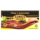 Lorea Gourmet Fillets of Anchovies in Vegetable Oil 50g