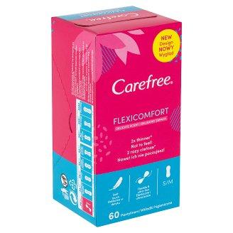 Carefree FlexiComfort Slipové vložky s dotykem bavlny a svěží vůní 60 ks