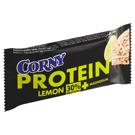 Corny Protein Cereal Protein Bar Filling with Buttermilk and Lemon Flavored 35g