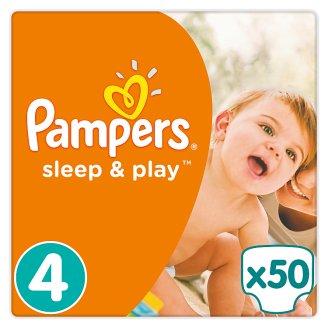 Pampers Sleep & Play Velikost4 (Maxi), 50Dětské plenky