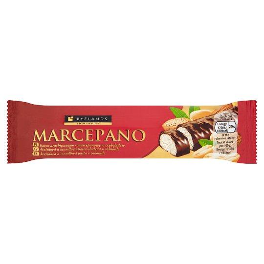 Ryelands Chocolates Arašídová a mandlová pasta obalená v čokoládě 90g