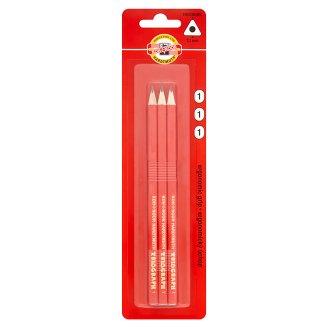 KOH-I-NOOR Trojhranné grafitové tužky 1 tvrdost 3 ks