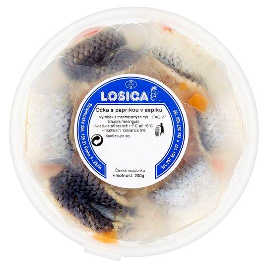 Losica Eyes Pepper in Aspic 200g