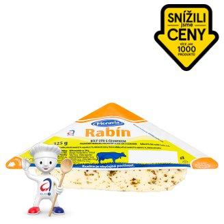 Moravia Rabín bílý sýr s česnekem 125g