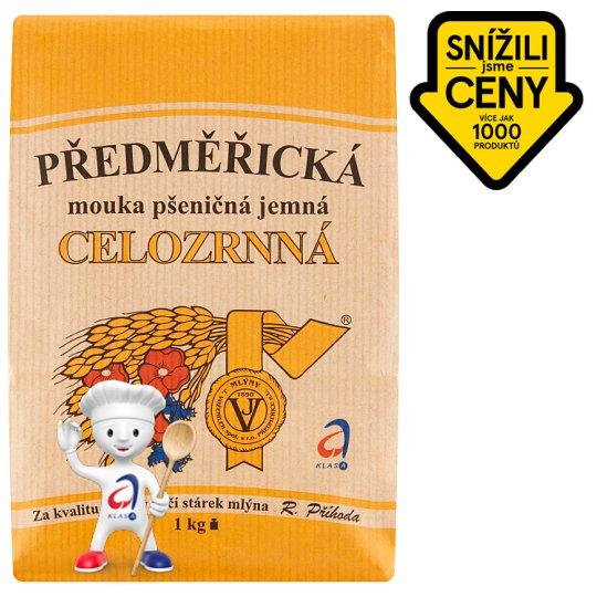 Mlýny J. Voženílek Předměřická mouka pšeničná jemná celozrnná plnohodnotná 1kg