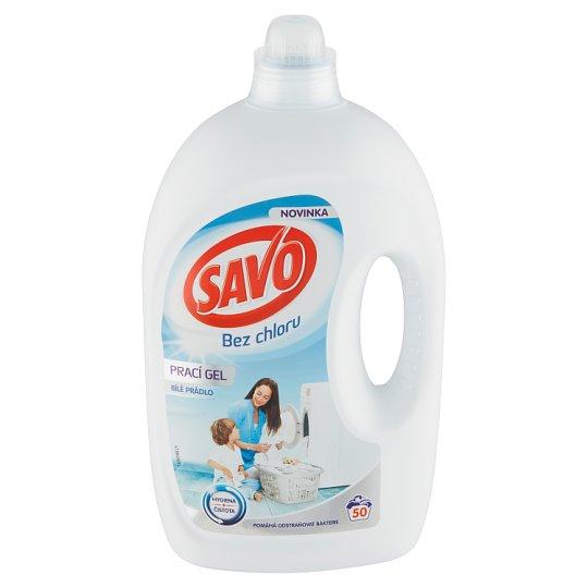 Savo Bez chlóru White prací gelna bílé prádlo50 praní