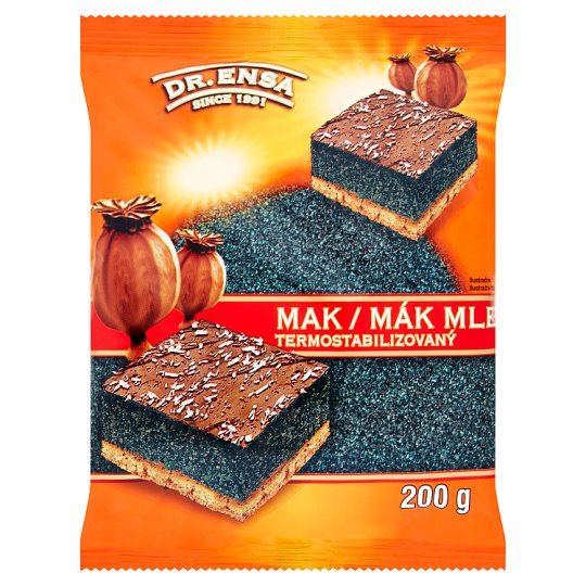 Dr. Ensa Poppy Seeds Ground 200g