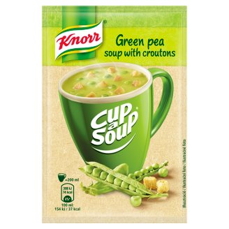 Knorr Cup a Soup Green Pea Soup with Croutons 19g