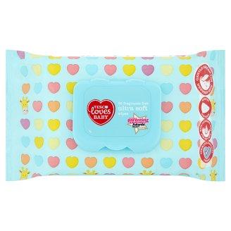 Tesco Loves Baby Ultra soft neparfémované vlhčené ubrousky 56 ks