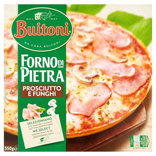 Buitoni Forno Di Pietra Prosciutto E Funghi hluboce zmrazená pizza 350g
