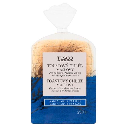 Tesco Toustový chléb máslový 250g