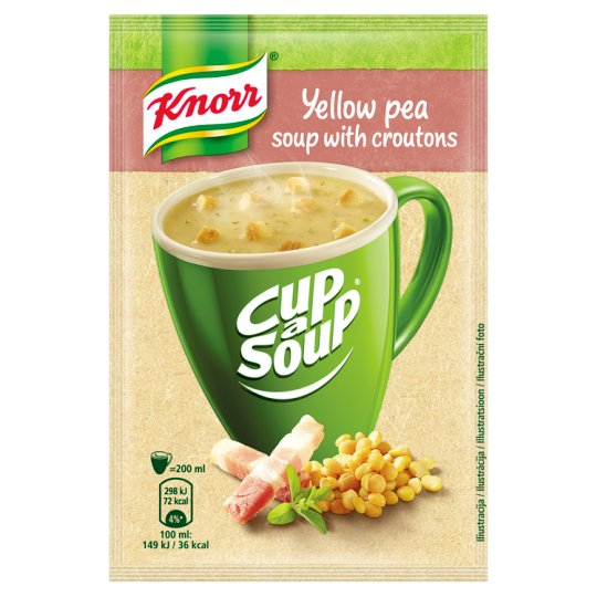 Knorr Cup a Soup Yellow Pea Soup with Croutons 21g