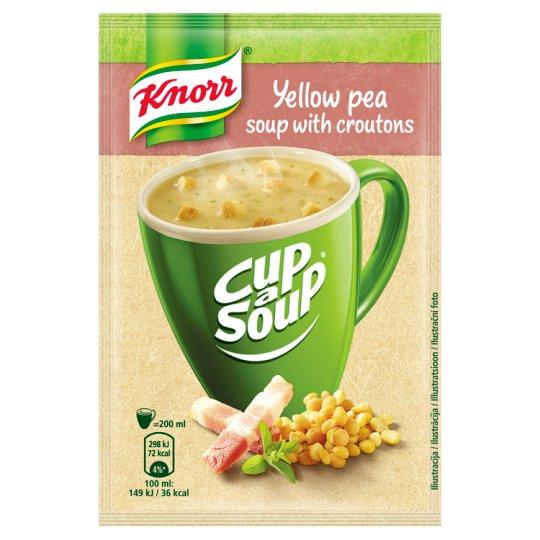 Knorr Cup a Soup Hrachová instantní polévka s krutony 21g