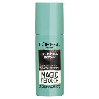 L'Oréal Paris Magic Retouch Sprej pro okamžité zakrytí odrostů černohnědá 75ml