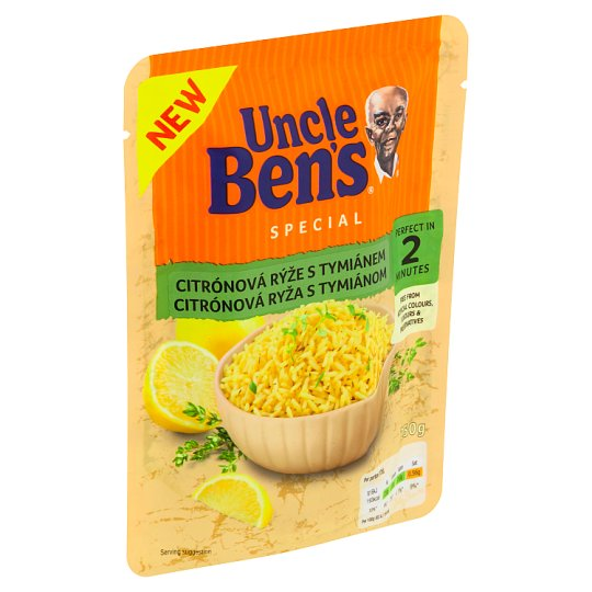 Uncle Ben's Lemon Rice with Thyme 250g