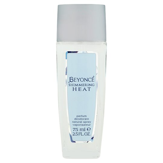 Beyoncé Shimmering Heat parfémový deodorant natural spray 75ml
