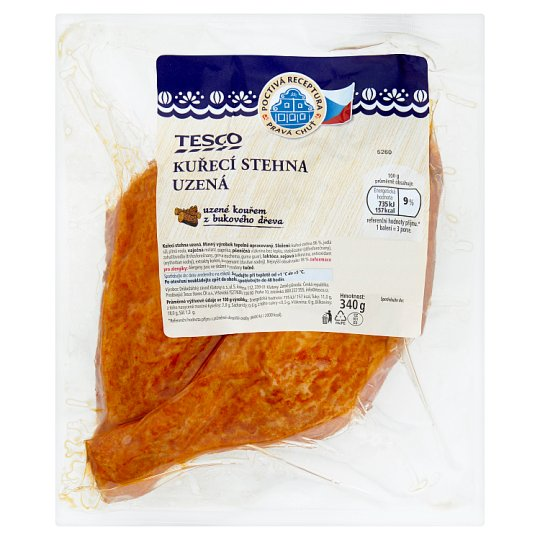 Tesco Chicken Thights Smoked 340g
