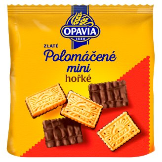 Opavia Zlaté Half-Dipped Mini Dark Chocolate 145g