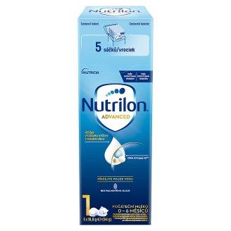 Nutrilon 1 počáteční mléčná kojenecká výživa 0-6 měsíců 5 x 18,8g