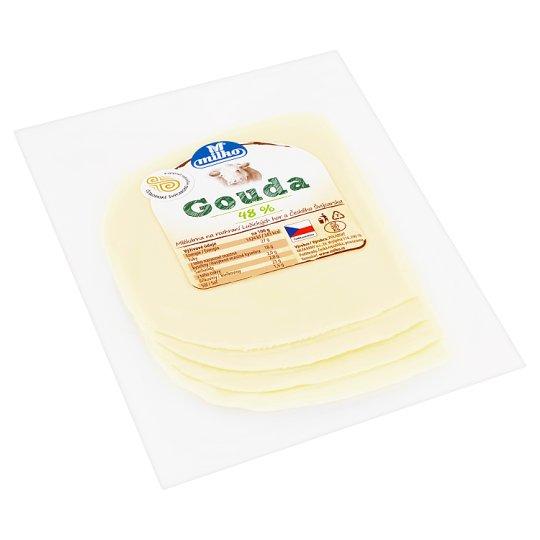 Milko Gouda plátky 48% 100g