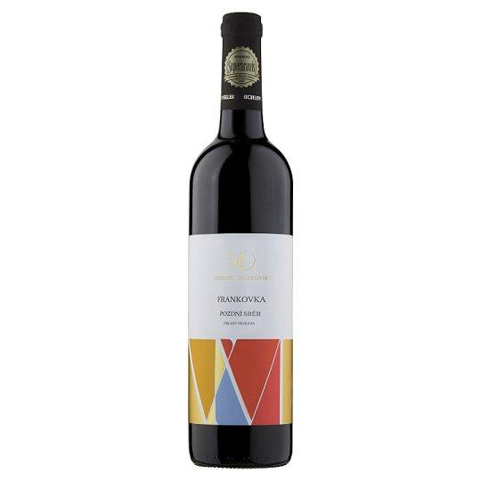 Vinselekt Michlovský Frankovka Wine Late Collection Dry 0.75L