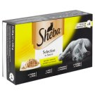 Sheba Trays of Poultry Chunks 4 x 85g
