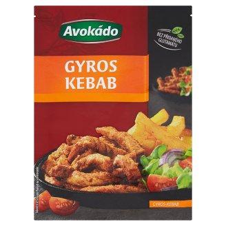 Avokádo Gyros-Kebab 22g