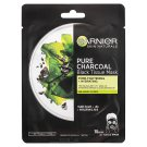 Garnier Skin Naturals Pure Charcoal Black Tissue Mask 28g