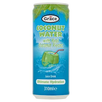 Grace Coconut Water with Real Coconut Pieces 310ml