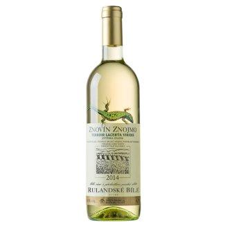 Znovín Znojmo Rulandské bílé pozdní sběr suché víno 0,75l