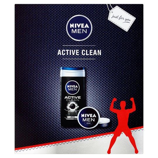 Nivea Men Active Clean Gift Set