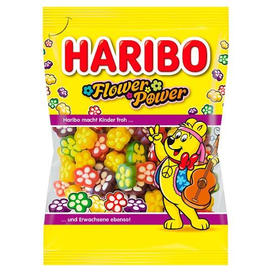 Haribo Flower Power želé s ovocnými příchutěmi 90g