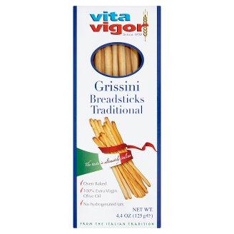 Vita Vigor Grissini s extra panenským olivovým olejem 125g