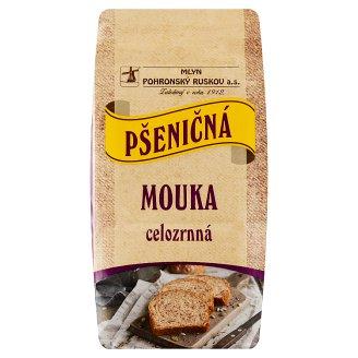 Mlyn Pohronský Ruskov Whole Grain Wheat Flour 800g