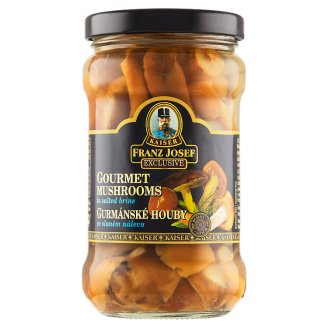Kaiser Franz Josef Exclusive Wild Forest Mix Mushrooms in Salted Brine 280g