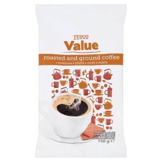 Tesco Value Pražená mletá káva 150g