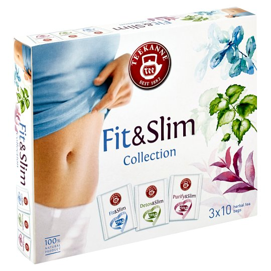 TEEKANNE Fit & Slim Collection, 30 sáčků, 48g